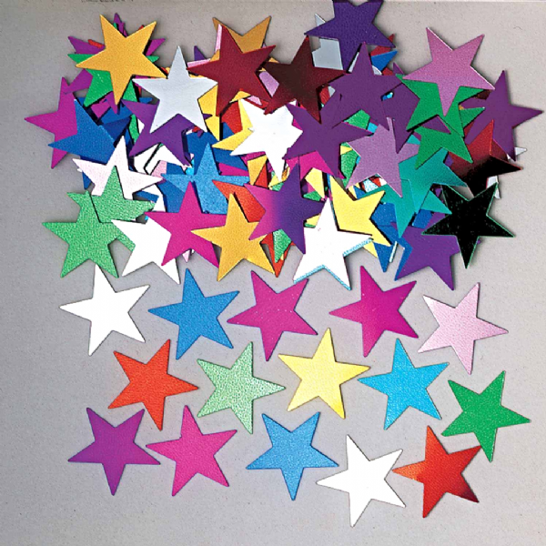 Jumbo Stars Multi Coloured